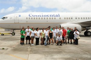 Continental-United Plane Pull Event